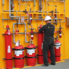 Services EDI de protection anti-incendie par des ingénieurs professionnels et des concepteurs certifiés par NICET. Avec évaluations du système, analyse du danger d'incendie et études d'atténuation.