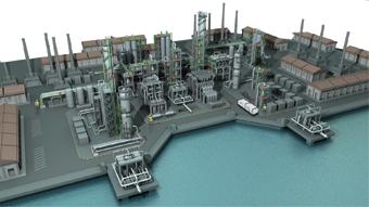 Système en boucle à haute pression. Le système HPLS distribue un air de niveau D au cours d'une activité industrielle de cheminement critique. Réduit les frais de personnel.